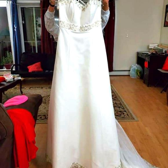Wedding gown...